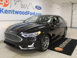 Used 2020 Ford Fusion Hybrid Titanium | Hybrid | Heated/Cooled Leather | Sunroof | NAV for sale in Edmonton, AB