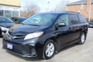 Used 2019 Toyota Sienna LE Power Door 8 Passengers for sale in Brampton, ON
