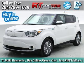 Used 2017 Kia Soul EV (Electric Vehicle) for sale in Winnipeg, MB