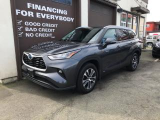 Used 2020 Toyota Highlander HYBRID XLE for sale in Abbotsford, BC