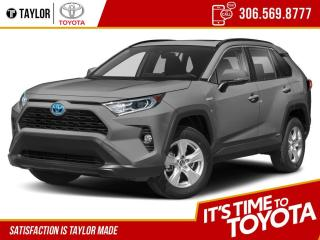 New 2021 Toyota RAV4 Hybrid XLE for sale in Regina, SK