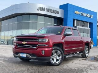 Used 2018 Chevrolet Silverado 1500 LTZ Z71 5.3L V8 ROOF NAV LEATHER 20 CHROME WHEELS for sale in Orillia, ON