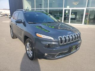 Used 2018 Jeep Cherokee Limited Remote Start, NAV, Heated Seats, B/U Cam! for sale in Ingersoll, ON