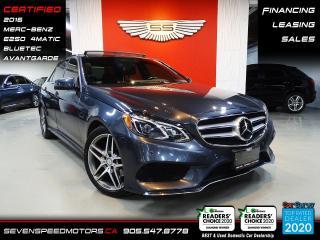 Used 2016 Mercedes-Benz E-Class | AVANTGARDE | CERTIFIED | FINANCE | 9055478778 for sale in Oakville, ON