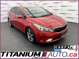 Used 2017 Kia Forte EX LUXURY+Leather+Blind Spot+Sunroof+Apple Play for sale in London, ON