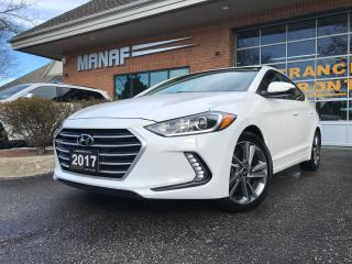 Used 2017 Hyundai Elantra GLS Sunroof R.Cam Front & Rear Heated Seats Certi* for sale in Concord, ON