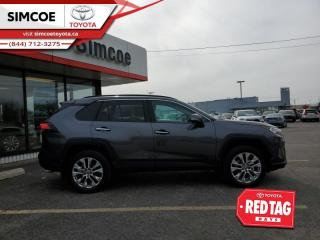 New 2021 Toyota RAV4 Limited  - Leather Seats -  Sunroof for sale in Simcoe, ON