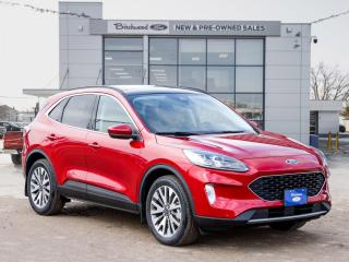 New 2021 Ford Escape Titanium Hybrid 0% APR | PANO ROOF for sale in Winnipeg, MB