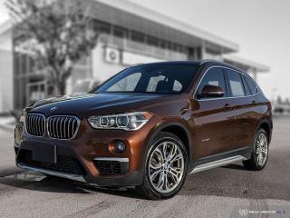 Used 2017 BMW X1 xDrive28i Accident Free! Enhanced! Lease Return! for sale in Winnipeg, MB