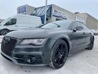 Used 2013 Audi S7 4.0T ADAPTIVE CRUISE|LANE ASSIST|NAVIGATION|BLIND SPOT for sale in Concord, ON