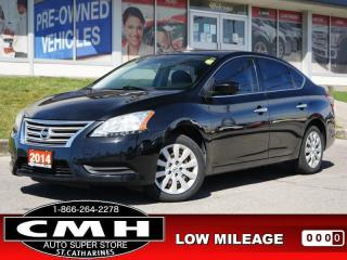 Used 2014 Nissan Sentra SV  BLUETOOTH S/W-AUDIO PWR-GROUP KEYLESS for sale in St. Catharines, ON