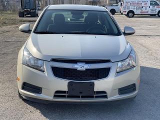 Used 2014 Chevrolet Cruze CRUZE WITH LOW KM /1 YEAR WARRANTY for sale in Brampton, ON
