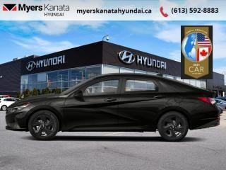 New 2021 Hyundai Elantra Preferred w/Sun & Tech Package IVT  - $152 B/W for sale in Kanata, ON