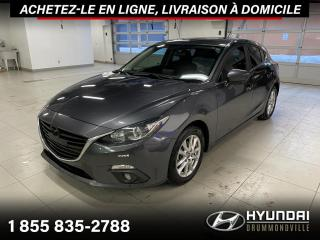 Used 2015 Mazda MAZDA3 GS + GARANTIE + NAVI + TOIT + MAGS + WOW for sale in Drummondville, QC