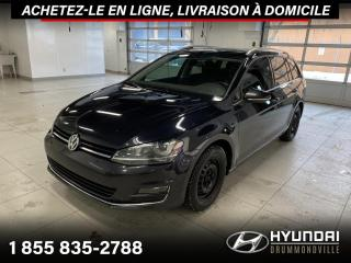 Used 2017 Volkswagen Golf Sportwagen HIGHLINE 4MOTION + GARANTIE + NAVI + WOW for sale in Drummondville, QC