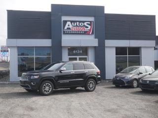 Used 2015 Jeep Grand Cherokee V6 4WD Limited + CUIR + INSPECTÉ for sale in Sherbrooke, QC