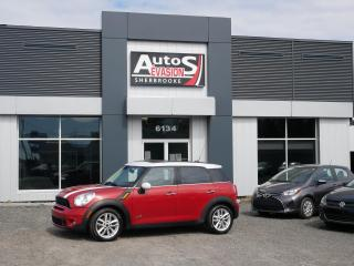 Used 2014 MINI Cooper Countryman ALL4 COOPER S + TOIT + INSPECTÉ + FREINS NEUFS for sale in Sherbrooke, QC