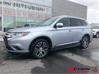 Used 2016 Mitsubishi Outlander GT+AWD+TOIT+CUIR+MAGS 18+KIT DE JUPES+CAM RECUL for sale in St-Hubert, QC