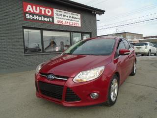 Used 2012 Ford Focus SEL for sale in St-Hubert, QC
