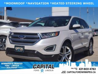 Used 2018 Ford Edge Titanium AWD for sale in Winnipeg, MB
