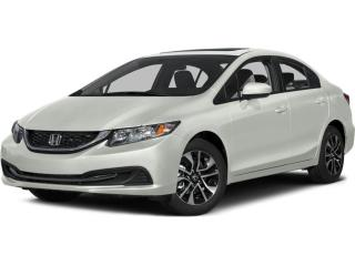 Used 2015 Honda Civic EX HEATED SEATS | REARVIEW CAMERA | ECON MODE for sale in Cambridge, ON
