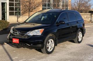 Used 2011 Honda CR-V EX-L w/Navi for sale in Brampton, ON