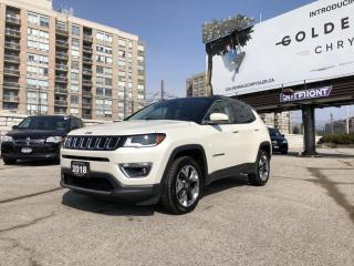 Used 2018 Jeep Compass Limited Blind Spot/Rear Cross Path Detection, UConnect with 8.4 inch display for sale in North York, ON