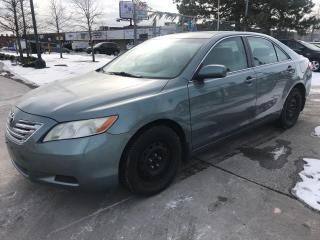 Used 2007 Toyota Camry LE,WINTER TIRES,SAFETY+YEARS WARRANTY INCLUDED for sale in Toronto, ON