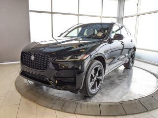 New 2021 Jaguar F-PACE Active Courtesy Loaner for sale in Edmonton, AB
