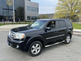 Used 2011 Honda Pilot 8 Passengers, 4WD, Auto, 3 Years Warranty Availabl for sale in Toronto, ON