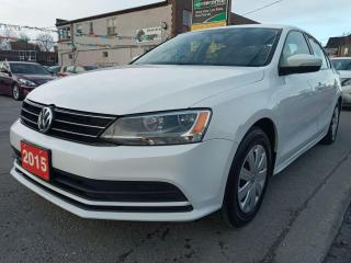 Used 2015 Volkswagen Jetta TRENDLINE-EXTRA CLEAN-145K-BK UP CAM-AUX-ALLOYS for sale in Scarborough, ON