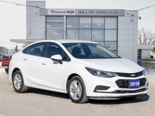 Used 2018 Chevrolet Cruze LT CLEAN CARFAX | HTD SEATS | BACK UP CAM for sale in Winnipeg, MB