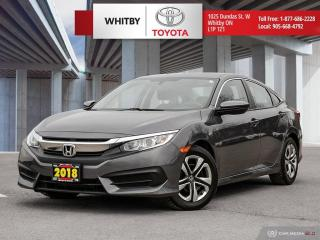 Used 2018 Honda Civic SEDAN LX for sale in Whitby, ON