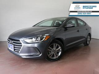 Used 2018 Hyundai Elantra 1 OWNER | LOW KM | BACK UP CAM | APPLE CARPLAY  - $105 B/W for sale in Brantford, ON