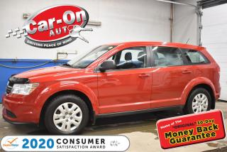 Used 2015 Dodge Journey CVP/SE Plus | SUPER LOW PAYMENTS for sale in Ottawa, ON