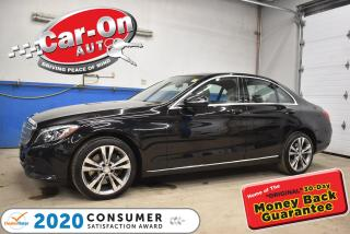 Used 2016 Mercedes-Benz C-Class C300 4Matic PREMIUM   NAVIGATION  PANO ROOF for sale in Ottawa, ON
