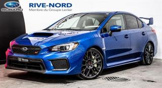 Used 2018 Subaru WRX STI Sport-tech NAVI+CUIR+TOIT.OUVRANT for sale in Boisbriand, QC