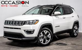 Used 2018 Jeep Compass Limited 4x4 NAVI+CUIR+SIEGES.CHAUFFANTS for sale in Boisbriand, QC