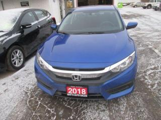Used 2018 Honda Civic LX for sale in Waterloo, ON