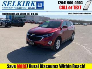 Used 2018 Chevrolet Equinox LT  *REMOTE START, HEATED SEATS* for sale in Selkirk, MB