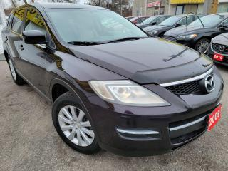 Used 2009 Mazda CX-9 TOURING/7PASSENGERS/LEATHER/DVD/LOADED/ALLOYS for sale in Scarborough, ON