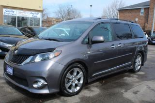 Used 2014 Toyota Sienna SE Sunroof Leather Power Doors for sale in Brampton, ON