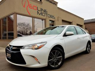 Used 2015 Toyota Camry SE Hybrid.ReverseCamera.Bluetooth.OneOwner for sale in Kitchener, ON