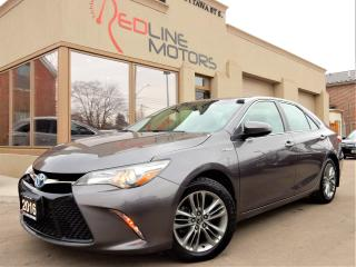 Used 2016 Toyota Camry SE Hybrid.ReverseCamera.Bluetooth.OneOwner for sale in Kitchener, ON