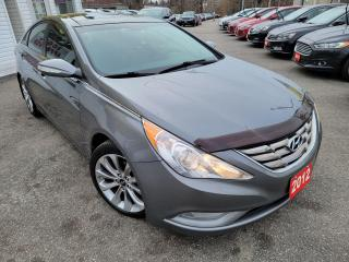 Used 2012 Hyundai Sonata Limited /NAVI/LEATHER/ROOF/P.SEATS/LOADED/ALLOYS for sale in Scarborough, ON