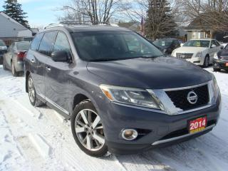 Used 2014 Nissan Pathfinder Platinum for sale in Ajax, ON