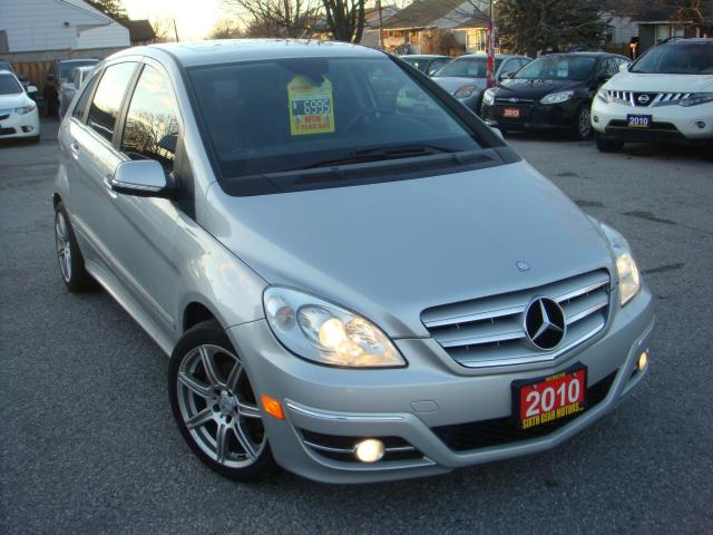 2010 Mercedes-Benz B-Class B 200 Turbo