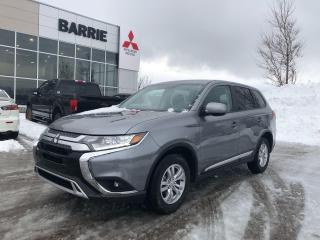 Used 2020 Mitsubishi Outlander ES - 7 Seater | All Wheel Drive for sale in Barrie, ON