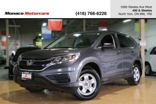 Used 2016 Honda CR-V LX - BACKUP CAMERA|HEATED SEATS|BLUETOOTH for sale in North York, ON