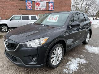 Used 2013 Mazda CX-5 GT/AWD/2L/REMOTE STARTER/SUNROOF/SAFETY INCLUDED for sale in Cambridge, ON